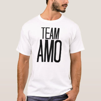 Team Amo T-shirt in white