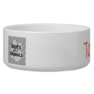 Team Animal Pet Bowl