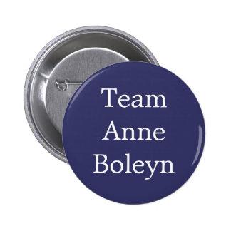 Team Anne Boleyn 6 Cm Round Badge
