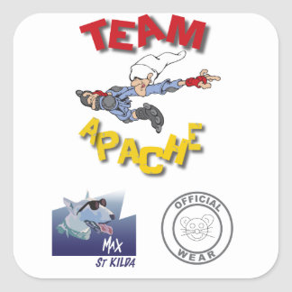 Team Apache Sticker