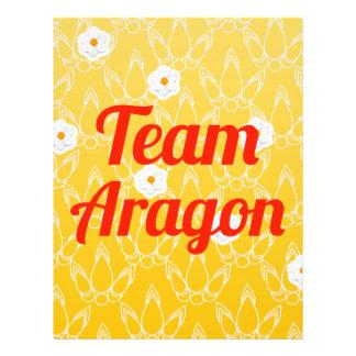 Team Aragon 21.5 Cm X 28 Cm Flyer