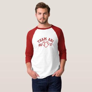 Team Ari men's baseball shirt