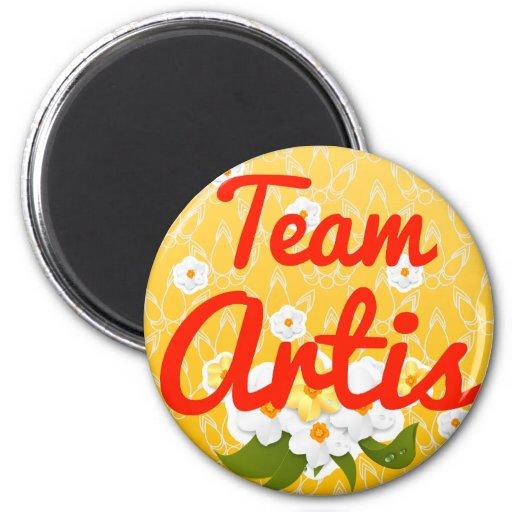 Team Artis Fridge Magnet
