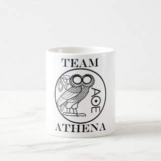 Team Athena (Engravers Font) Coffee Mug