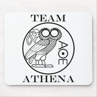 Team Athena (Engravers Font) Mouse Mat