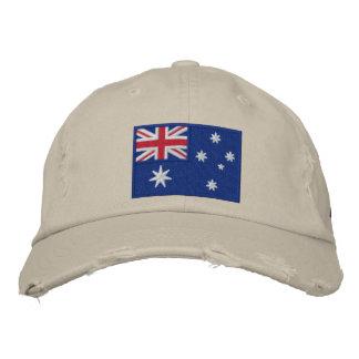 Team Australia 2012 Embroidered Baseball Cap