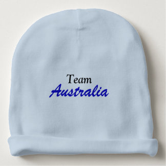 Team Australia cotton beanie Baby Beanie