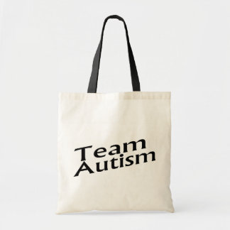 Team Autism Tote Bag