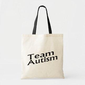 Team Autism Budget Tote Bag