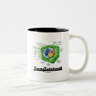 Team Autotroph (Plant Cell Biology) Two-Tone Coffee Mug