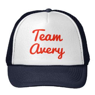 Team Avery Hat