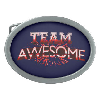 Team Awesome Belt Buckles