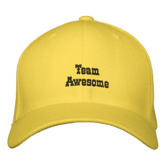 Team Awesome hat Embroidered Hat