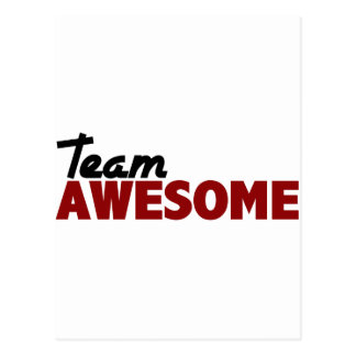 Team Awesome Postcard