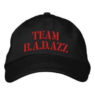 Team B.A.D.azz Hat Embroidered Baseball Caps