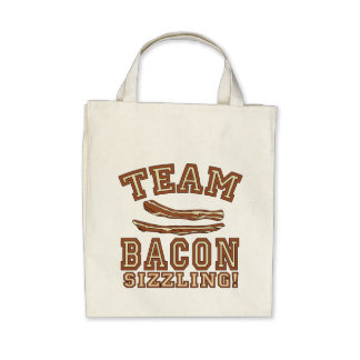 TEAM BACON is SIZZLING Tshirts Mugs Gifts Tote Bag