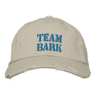 Team Bark Official Gear Embroidered Hats