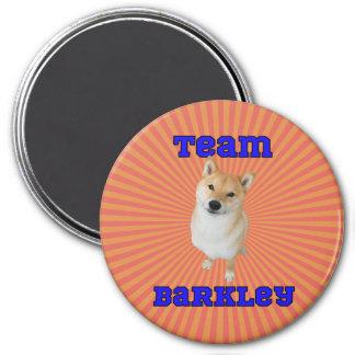 Team Barkley - 3 Inch Round Magnet