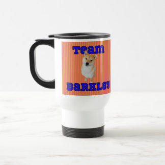Team Barkley Stainless Steel 15 oz Travel Mug
