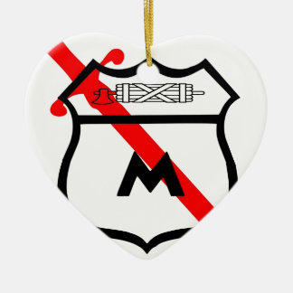 Team Barnet Christmas Ornament