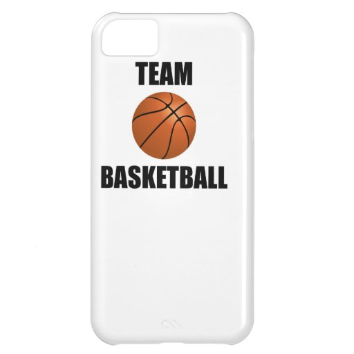 Team Basketball iPhone 5C Covers