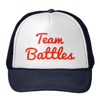 Team Battles Trucker Hats
