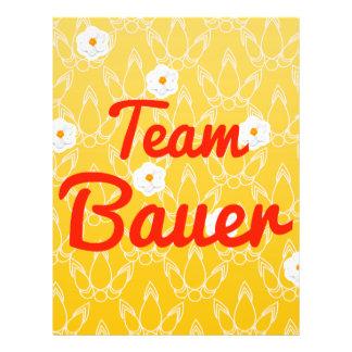 Team Bauer 21.5 Cm X 28 Cm Flyer
