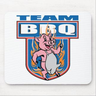 Team BBQ Pork Mouse Pad