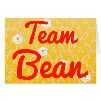 Team Bean Card