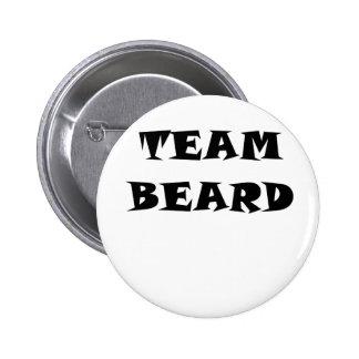Team Beard 6 Cm Round Badge