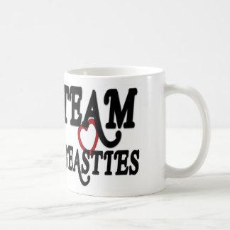Team Beasties Plain White Mug
