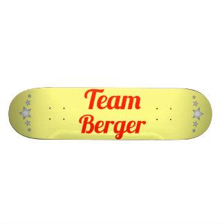 Team Berger Skate Board Deck