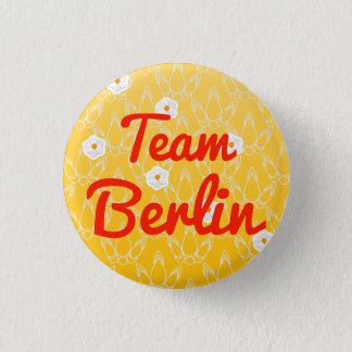 Team Berlin 3 Cm Round Badge