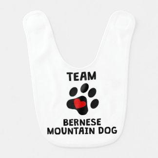Team Bernese Mountain Dog Bib