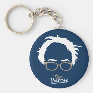 Team Bernie - Bernie Sanders for President Basic Round Button Key Ring