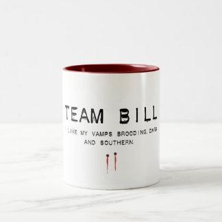team bill Two-Tone mug