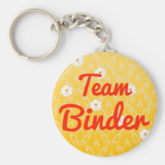 Team Binder Key Chain