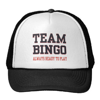 Team Bingo - Always Ready To Play Cap