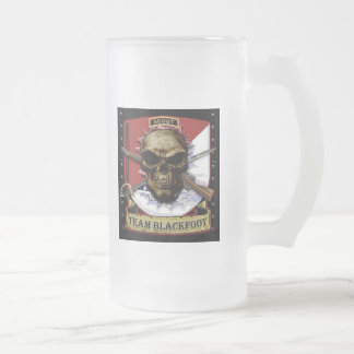 Team Blackfoot Frosted Beer Mug