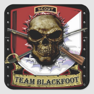 Team Blackfoot Sticker
