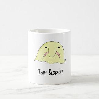 team blob basic white mug