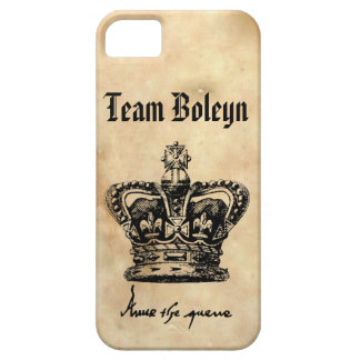 Team Boleyn - Anne's Crown & Signature iPhone 5 Covers