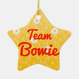 Team Bowie Ornament