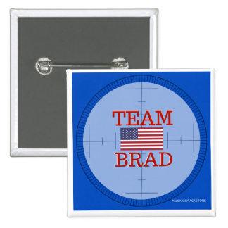 Team Brad Button