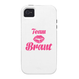 Team Braut iPhone 4/4S Covers