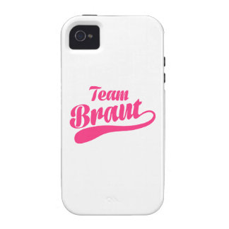 Team Braut Case-Mate iPhone 4 Cases