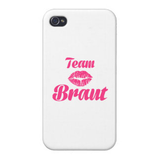 Team Braut Cover For iPhone 4