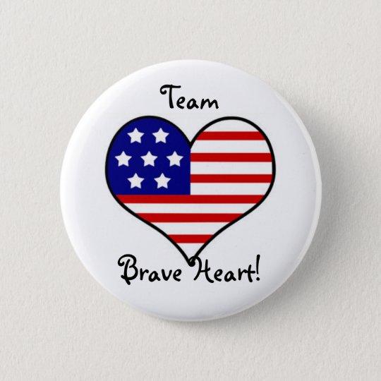 Team Brave Heart Button