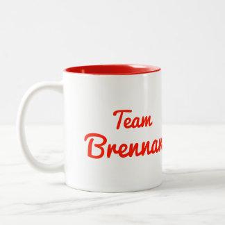 Team Brennan Coffee Mugs