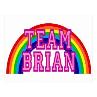 Team Brian Postcard